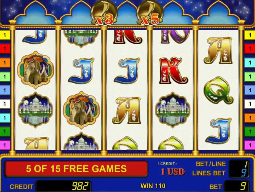 Игровой автомат Riches of India - играть онлайн в.
