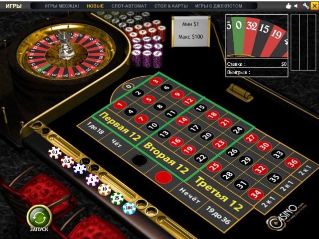 Правила игры в рулетку Математика игры в казино