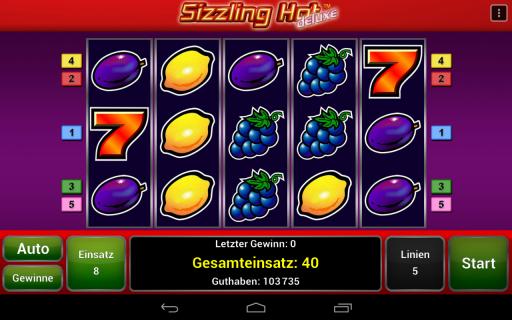 Игровой автомат Sizzling Hot Deluxe - играть бесплатно без.