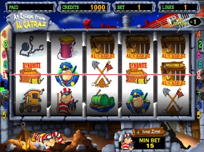 Игровой автомат Alcatraz играть бесплатно и без.
